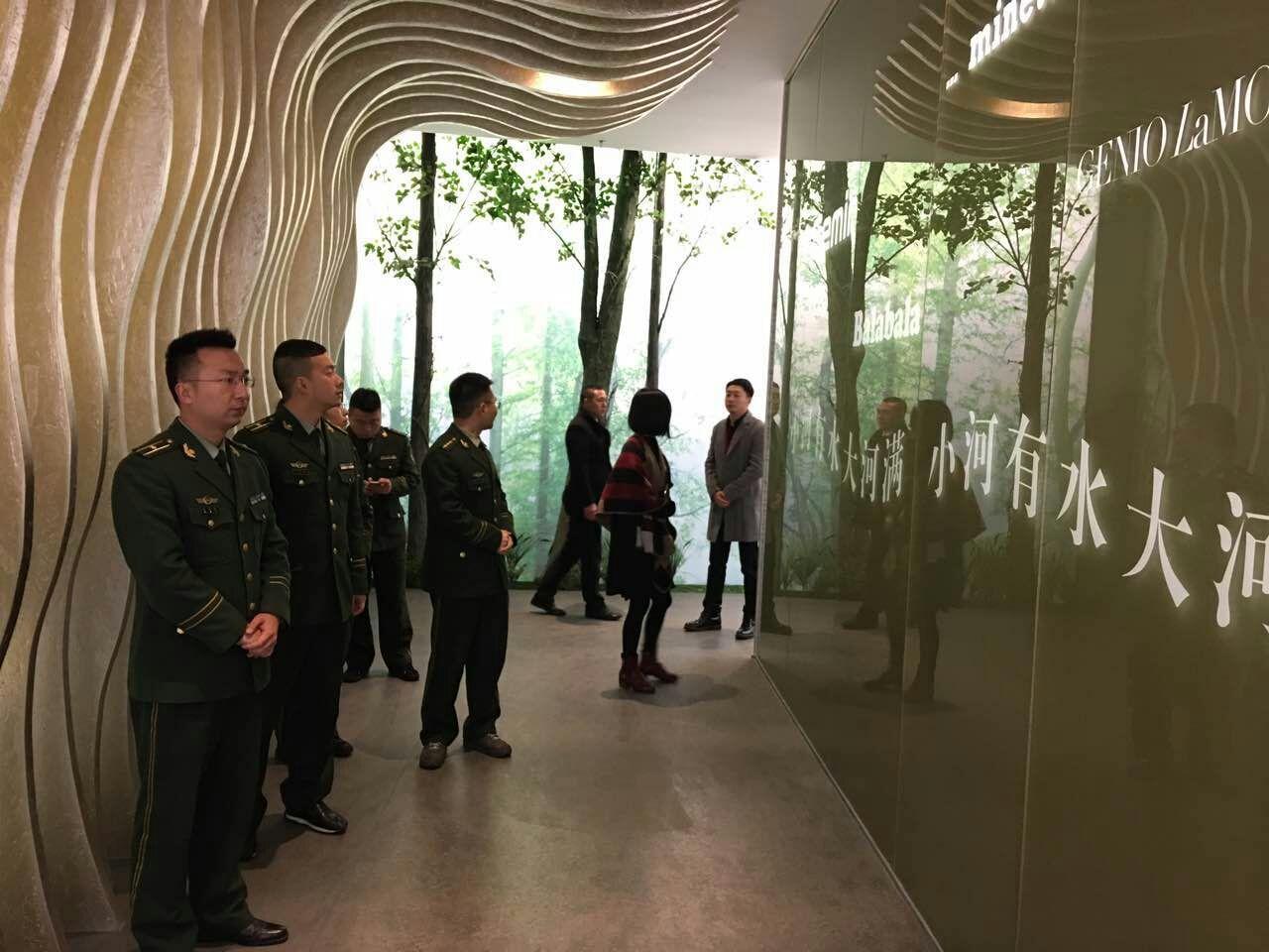 瓯海区公安消防分局到森马集团总部参观学习图片
