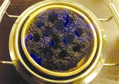 蜂窝煤形状的馒头