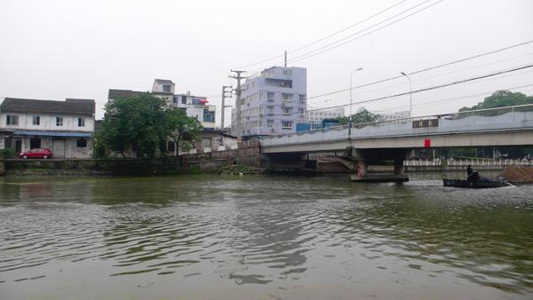 滨河慢行道效果图-区水利局专题调研会昌河滨河慢行带桥梁改造工程