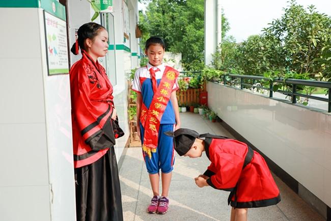 一步一脚印 三年开学记——宋桥小学新一入学仪式图片