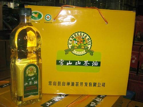 常山三宝之山茶油