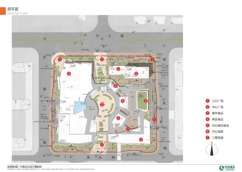 建德绿城2-10商业地块建筑设计方案批后公布图片