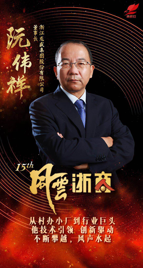 度浙江省十大 风云浙商 殊荣