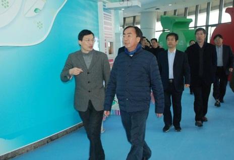 市委副书记,代市长马卫光一行到绍兴科技馆调研