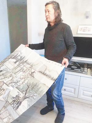 何加林:画出心中的兰亭