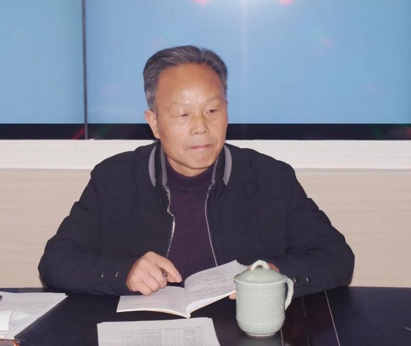 街道人大工委主任许明海主持会议