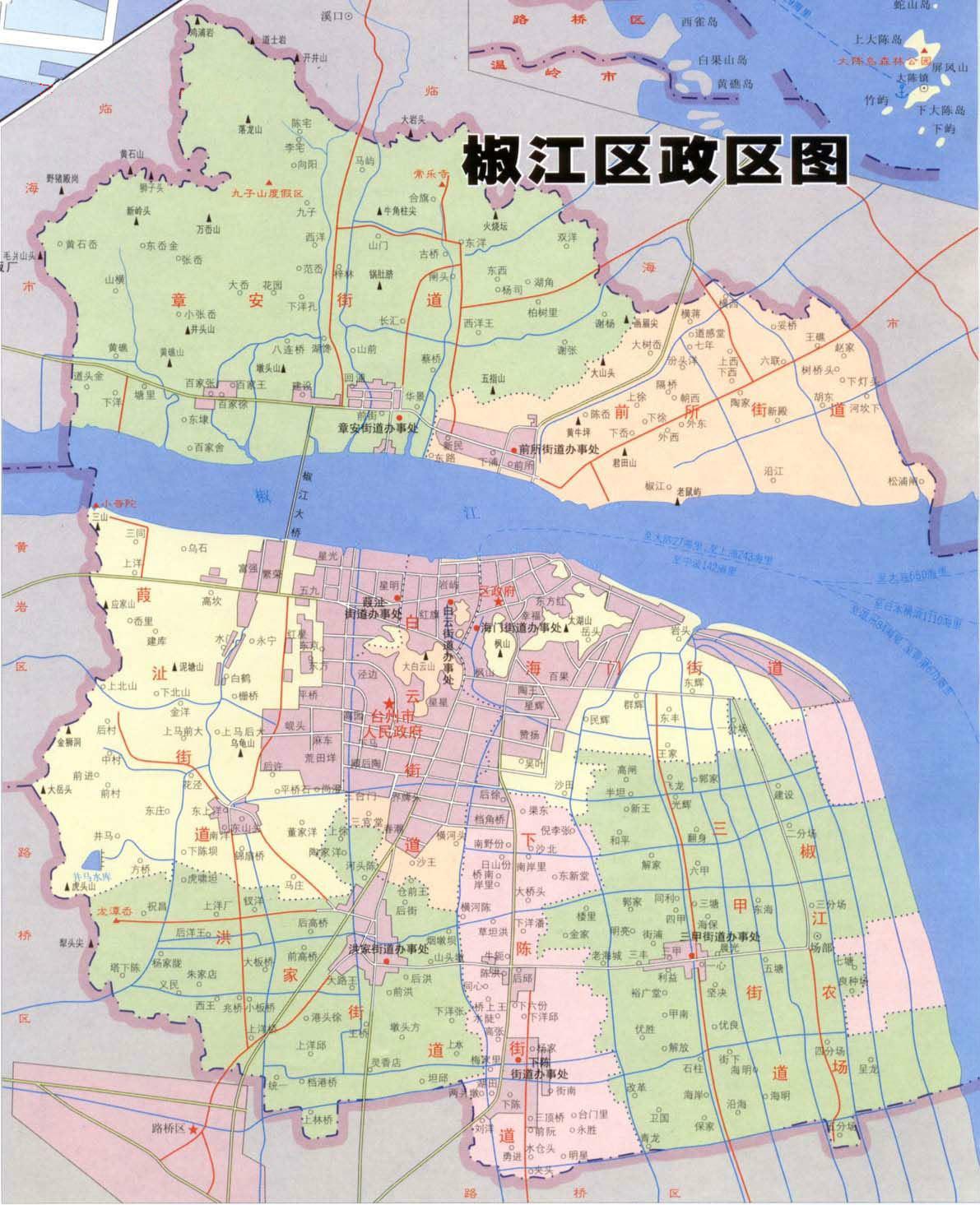 洮南市人民政府官网_台州市椒江区人民政府网站 电子地图