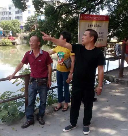 """塘口村建立""""党员河工制"""" 让党员在治水中发挥示范引领作用"""