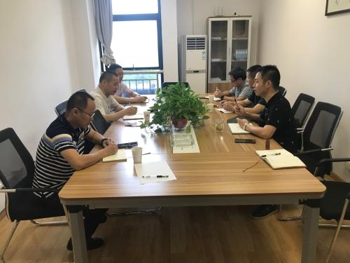 市局马云龙副局长赴省智能集立室居产物德检核
