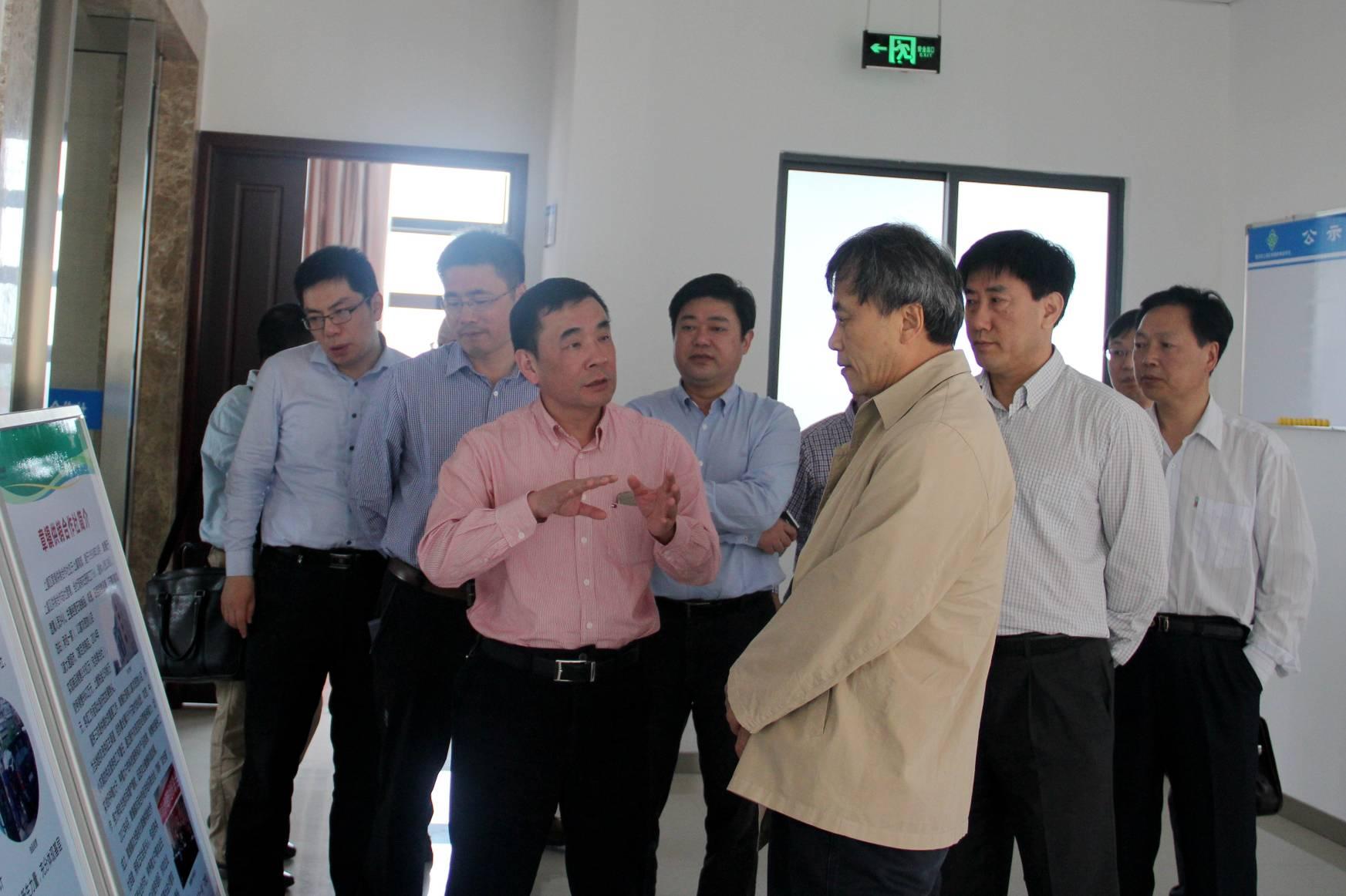 全国总社党组副书记,副主任李春生到上虞调研供销社