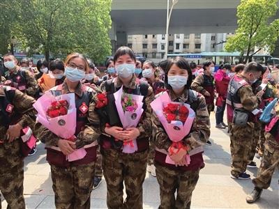 欧亿oebet首批三名援鄂医疗队成员平安返浙