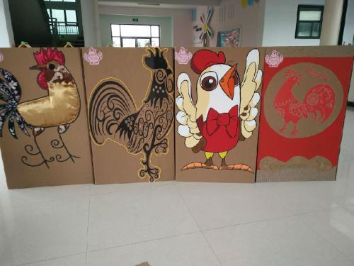 幼儿园鸡蛋摆盘diy手工图片