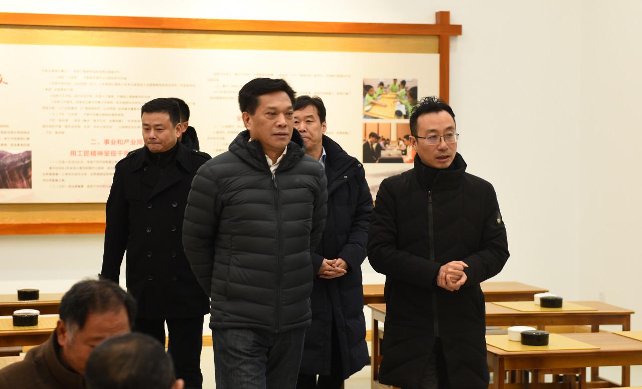 国家体育总局副局长李建明走访柯城区白云学校