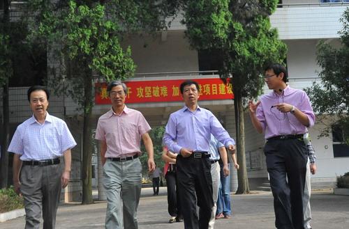 87.省教育厅副厅长于永明调研衢州市示范性综合实践基地项目