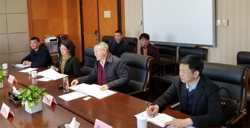 1111.常山县委书记叶美峰赴浙江省教育厅对接工作