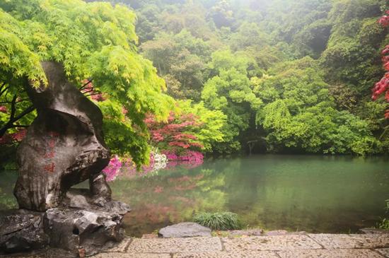"""杭州西湖两日游_云赏西湖:有趣的""""无情对"""""""