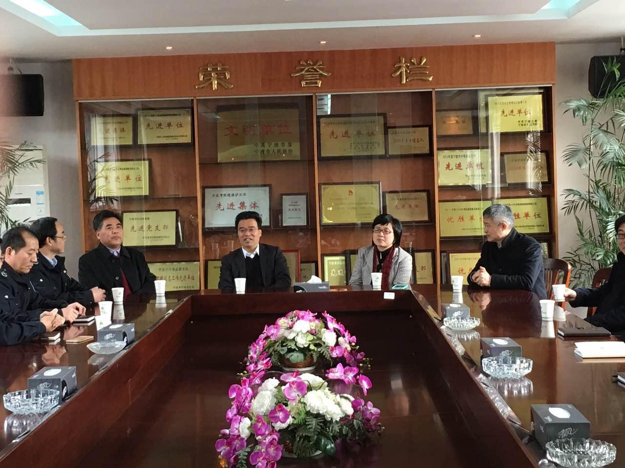 李关定副市长新春走访慰问市环境监察支队
