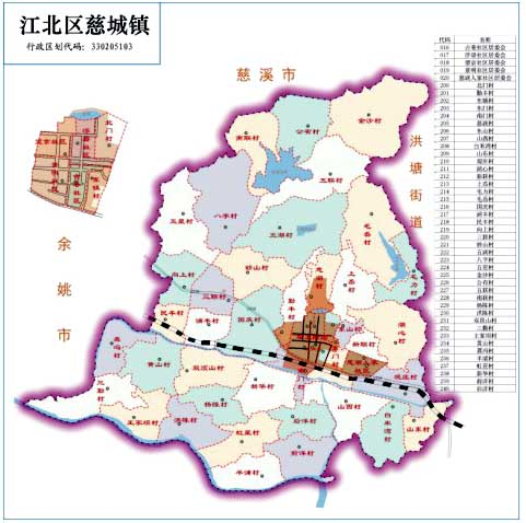 宁波·江北 慈城镇