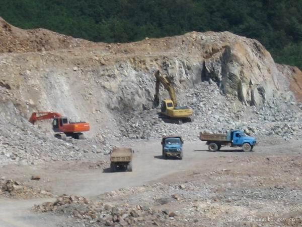 采石场矿山安全宣传展板