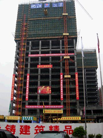 建设局组织观摩全国建筑施工安全质量标准化示范工地