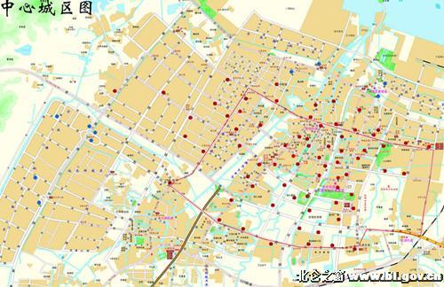 北仑嵩山路地图;