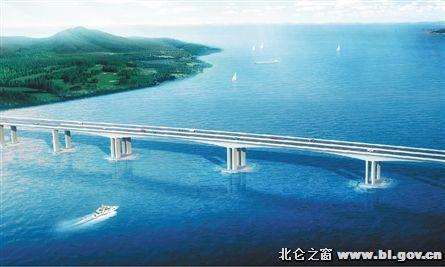 新桥互通,象山停车场互通,长街互通,明港互通以及蛇蟠岛服务区互通,这