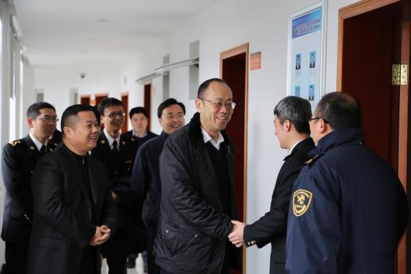 霞浦:宁波海关领导调研物流园区