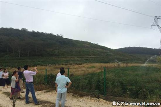 白峰 高效节水灌溉工程顺利通过验收