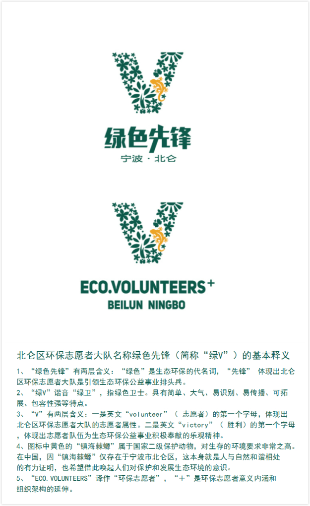 北仑环保志愿者大队社会环保公益组织的生态环保理念