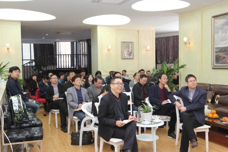 澳门教业中学校长贺诚来宁波滨海国际合作学校讲学指导图片
