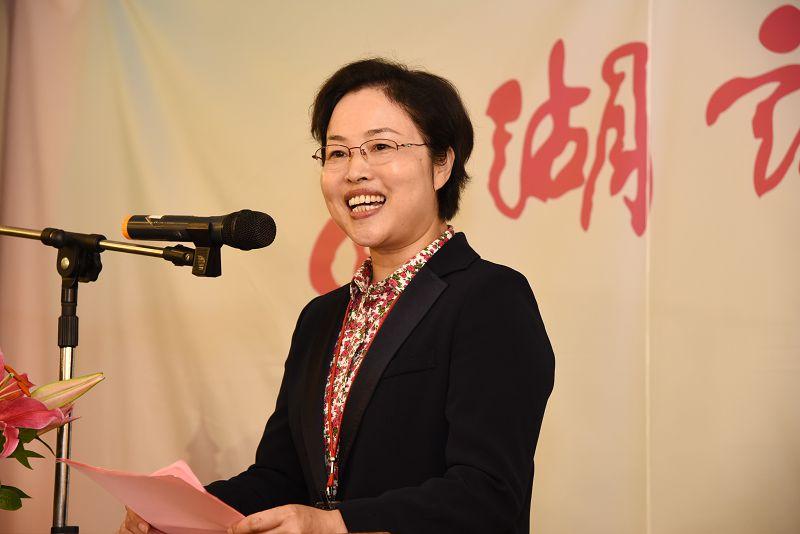 """陈国妹副市长在第十一届""""两湖论坛""""上致辞"""