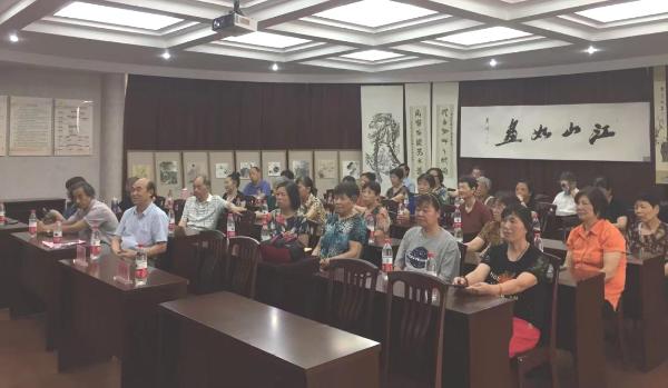 段塘街道文聯舉辦慶祝建黨100周年書畫展