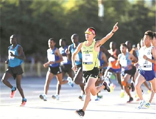 2017北京马拉松9月17日开跑 鄞州李子成勇夺国内男子