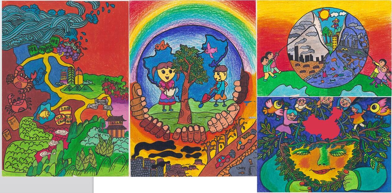 余姚4幅作品在全国少儿手绘地图大赛中获奖图片