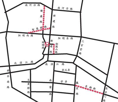 市区单行线路段违规行为频发