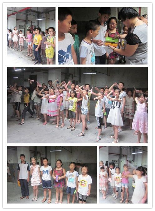 组织辖区内的中小学生们开展了一次纸飞机飞行比赛