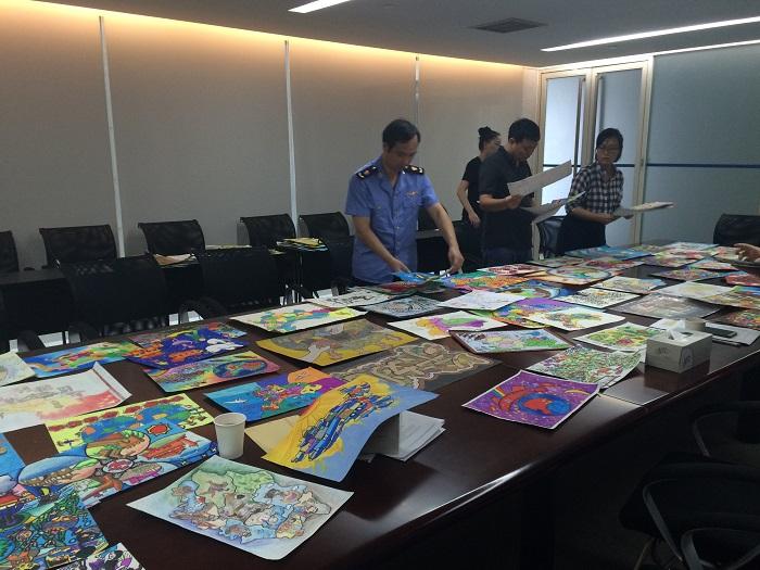 """第三届""""美丽中国""""少儿手绘地图大赛宁波赛区选拔赛"""