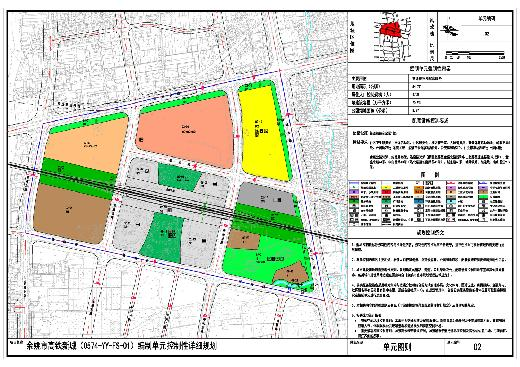 本区公共开放空间主要有两个层次