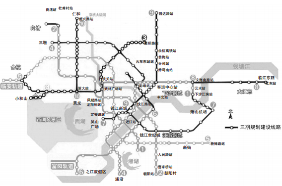 2022年前杭州10条地铁串联9大城区 - 轨道交通、地铁、高铁 - 轨道交通、地铁(轻轨)、有轨电车、高铁