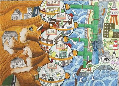 """""""五水共治,我参与""""创意绘画比赛结果出炉图片"""