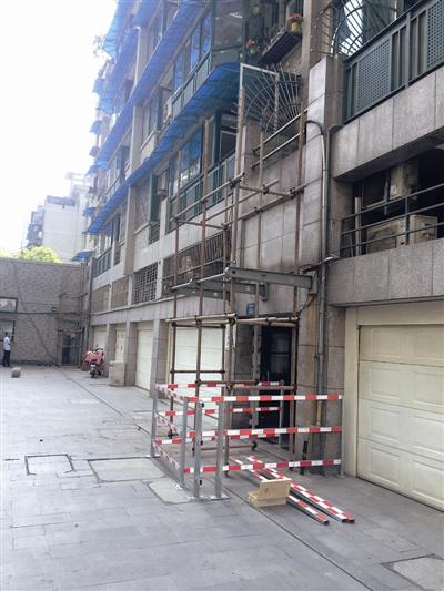 4月3日又有两个老小区开始加装电梯