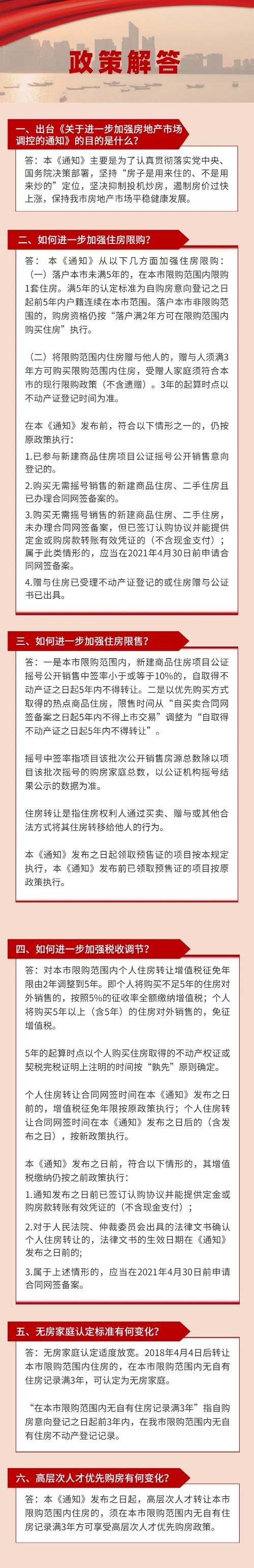 杭州  关于进一步加强房地产市场调控的通知