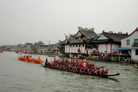 温州龙舟历史