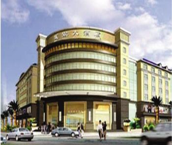 ,高级夜总会、桑拿保健中心,其主体建筑高六层,大堂设计独图片