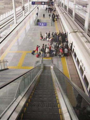 温州火车南站掠影
