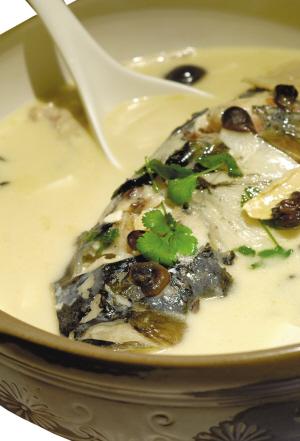 试试新派鱼头汤