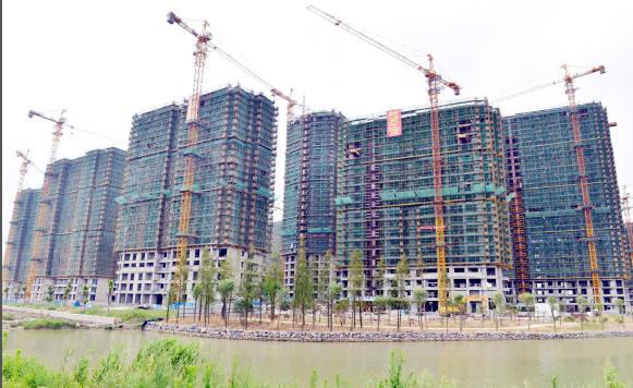 置房一期工程主体结构全部