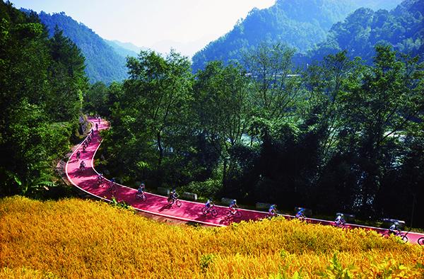 西安国城乡风景