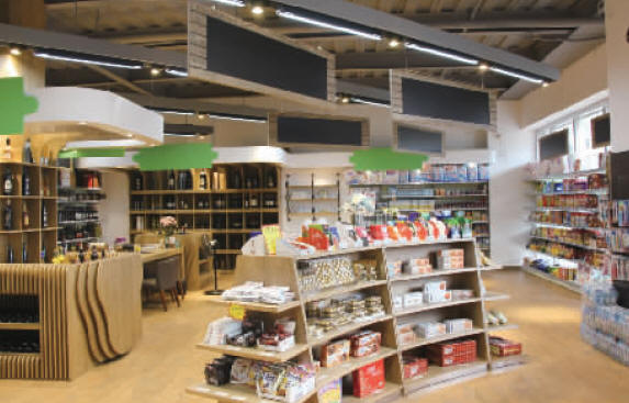 意大利温籍华侨回温开社区平价进口商品超市