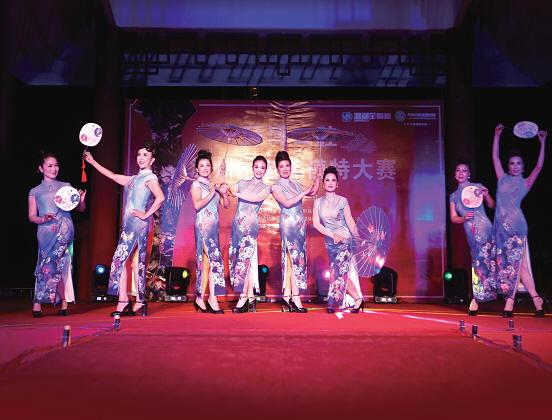 温州中老年模特大赛决赛举行
